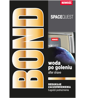 BOND SPACEQUEST WODA PO GOLENIU 100ML