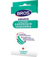 BROS - AMARIS - PLASTERKI ŁAGODZĄCE UKĄSZENIA 20 SZT.