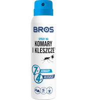 BROS - SPRAY NA KOMARY I KLESZCZE 90 ML