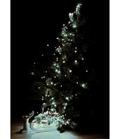 LAMPKI LED 180L, 9 WIĄZEK DŁ.2M Z ZASILACZEM, DO WNĘTRZ