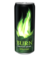 BURN APPLE KIWI 250 ML