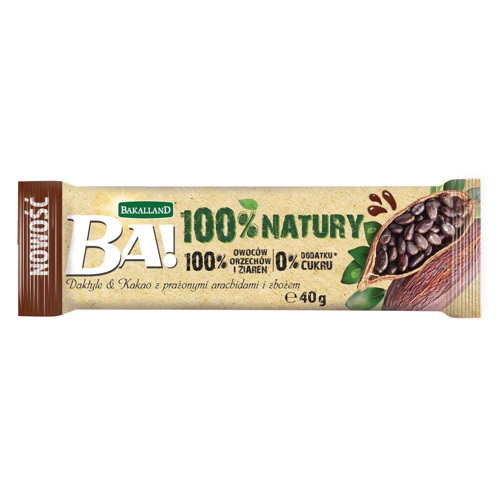 BA! BATON DAKTYLE & KAKAO 40G BAKALLAND