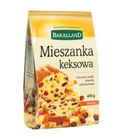 MIESZANKA KEKSOWA 400G BAKALLAND