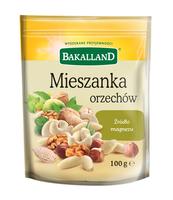 MIESZANKA ORZECHÓW 100G BAKALLAND