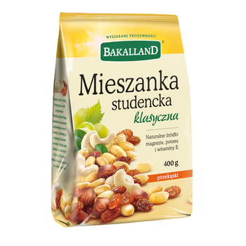 MIESZANKA STUDENCKA 400G BAKALLAND
