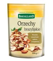 ORZECH BRAZYLIJSKI 100G BAKALLAND