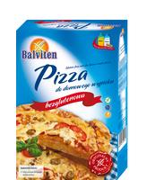 BALVITEN PIZZA MIX DO DOMOWEGO WYPIEKU 500G.PRODUKT BEZGLUTENOWY