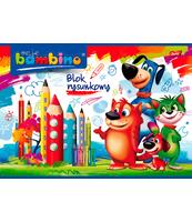BAMBINO BLOK RYSUNKOWY A4 20 KARTEK