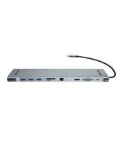 ADAPTER USB TYP-C BASEUS ENJOYMENT 10W1 SREBRNY