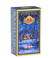 BASILUR CEYLON BLACK TEA WINTER STARS PUSZKA 75G