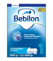 BEBILON 1 Z PRONUTRA-ADVANCE MLEKO POCZĄTKOWE OD URODZENIA 1200 G (2 X 600 G)