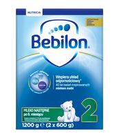 BEBILON 2 Z PRONUTRA-ADVANCE MLEKO NASTĘPNE PO 6. MIESIĄCU 1200 G (2 X 600 G)