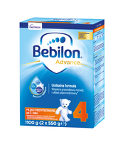 BEBILON 4 PRONUTRAADVANCE MLEKO MODYFIKOWANE PO 2. ROKU 1100 G