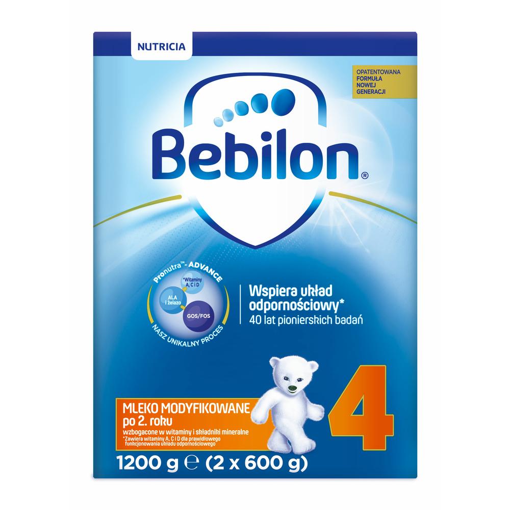 BEBILON 4 Z PRONUTRA-ADVANCE MLEKO MODYFIKOWANE PO 2. ROKU 1200 G (2 X 600 G)