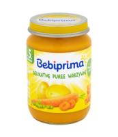 BEBIPRIMA DELIKATNE PUREE WARZYWNE 190G
