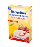 BEBIPRIMA KASZKA MLECZNO-PSZENNA TRUSKAWKI-MALINY 300 G