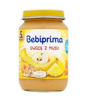 BEBIPRIMA OWOCE Z MUSLI 190G