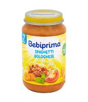 BEBIPRIMA SPAGHETTI BOLOGNESE 220G