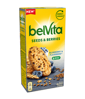 BELVITA SEEDS & BERRIES BLUEBERRY & FLAXSEEDS 270G