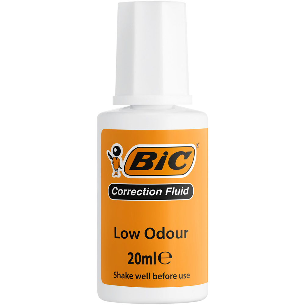 BIC CORRECTION FLUID KOREKTOR W BUTELCE BLISTER 1 SZTUKA