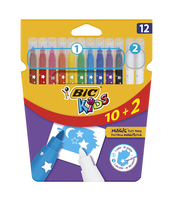 BIC KIDS MAGIC FLAMASTRY OPAK. 10+2 GRATIS
