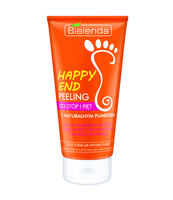 BIELENDA HAPPY END PEELING DO STÓP I PIĘT Z NATURALNYM PUMEKSEM 125 ML