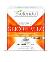 BIELENDA NEURO GLICOL + VIT.C EKSFOLIUJĄCY KREM KOREKTOR ZMARSZCZEK I PRZEBARWIEŃ NA NOC 50 ML