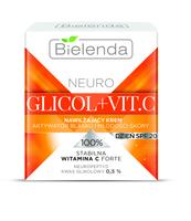 BIELENDA NEURO GLICOL + VIT.C NAWILŻAJĄCY KREM AKTYWATOR BLASKU SKÓRY NA DZIEŃ SPF 20, 50 ML