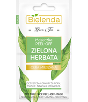 BIELENDA ZIELONA HERBATA MASECZKA PEEL-OFF 2 X 5 G