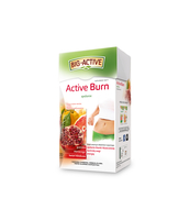 BIG - ACTIVE HERBATA ACTIVE BURN SPALANIE THERMOGENIC FORMULA 20TB/40G