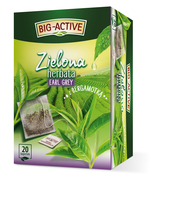 BIG-ACTIVE - HERBATA ZIELONA EARL GREY (20TB X 1,5G)
