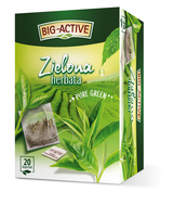 BIG-ACTIVE - HERBATA ZIELONA PURE GREEN (EKSPRESOWA) (20TB X 1,5G)