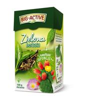 BIG-ACTIVE - HERBATA ZIELONA Z OPUNCJĄ (100G)