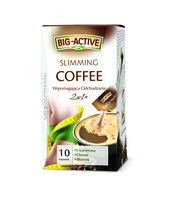 BIG-ACTIVE KAWA SLIMMING COFFEE 2W1 120G