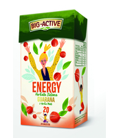 BIG - ACTIVE HERBATA ENERGY GUARANA Z YERBA MATE 30G