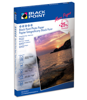 PAPIER FOTO BLACK POINT A4 B 230 25 SZT.BP