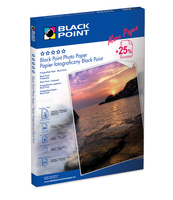 PAPIER FOTO BLACK POINT A4 M 210 25 SZT.