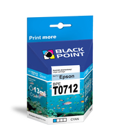 TUSZ BLACK POINT BPET0712 (EPSON T0712)