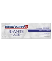 BLEND-A-MED 3DWHITE LUXE PERFECTION PASTA DO ZĘBÓW 75 ML