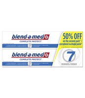 BLEND-A-MED COMPLETE + WHITE PASTA DO ZĘBÓW 2X100 ML