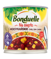 BONDUELLE MEKSYKAŃSKIE CHILI SIN CARNE 425 ML