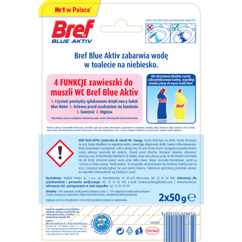 BREF COLOR AKTIV FRESH FLOWERS 2X50G