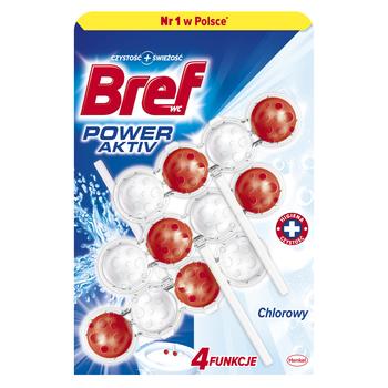 BREF POWER AKTIV CHLORINE 3X50G