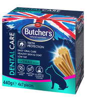 BUTCHER'S DENTAL CARE FOR SMALL DOGS BOX 4 X 110G