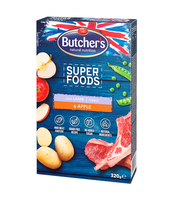 BUTCHER'S SUPERFOODS GRAIN FREE LAMB & APPLE 320G