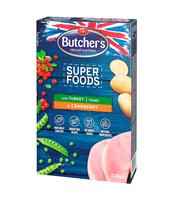 BUTCHER'S SUPERFOODS GRAIN FREE TURKEY & CRANBERRY 320G