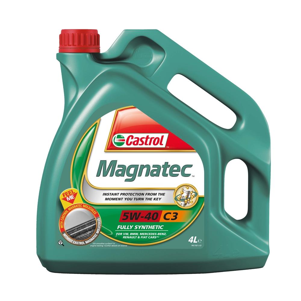 OLEJ SILNIKOWY CASTROL MAGNATEC C3 5W-40 4L