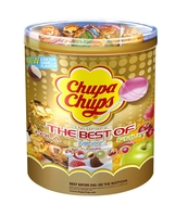 CHUPA CHUPS LIZAKI BEST OF MINI TUBA 600G