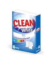 PROSZEK DO PRANIA BIEL 600G CLEAN