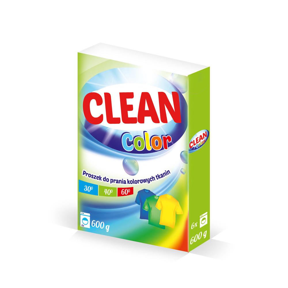 PROSZEK DO PRANIA COLOR 600G CLEAN